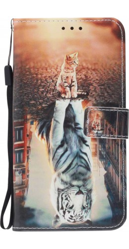 Coque Samsung Galaxy S20 - Flip Chat Tiger