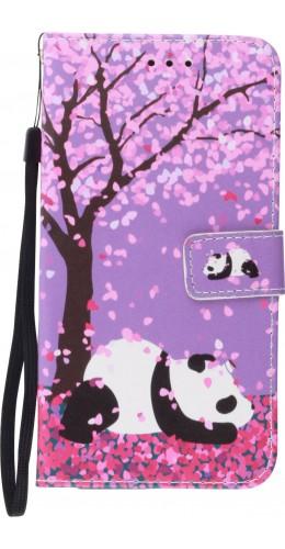 Coque Samsung Galaxy S20+ - Flip Panda Cerisier