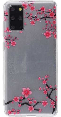 Coque Samsung Galaxy S20+ - Gel petites fleurs