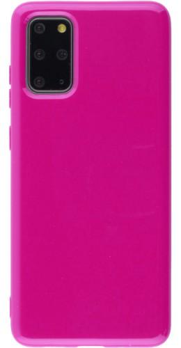 Coque Samsung Galaxy S20+ - Gel rose foncé