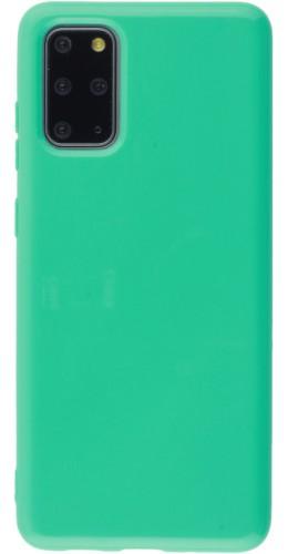 Coque Samsung Galaxy S20+ - Gel vert menthe