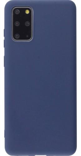 Coque Samsung Galaxy S20+ - Silicone Mat bleu foncé