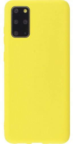 Coque Samsung Galaxy S20+ - Silicone Mat jaune