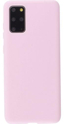 Coque Samsung Galaxy S20+ - Silicone Mat rose clair
