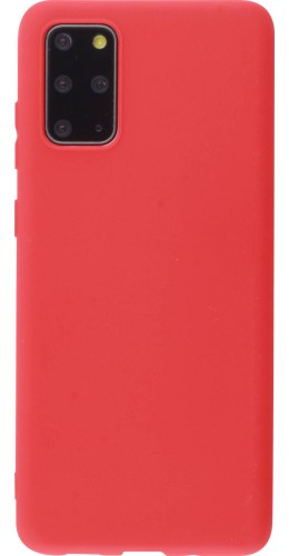 Coque Samsung Galaxy S20 - Silicone Mat rouge