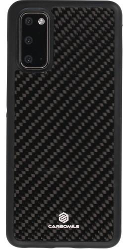 Coque Samsung Galaxy S20 - Carbomile fibre de carbone