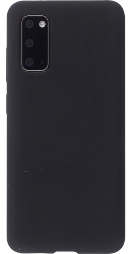Coque Samsung Galaxy S20 - Soft Touch noir