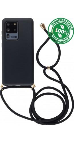 Coque Samsung Galaxy S20 Ultra - Bio Eco-Friendly Lacet noir