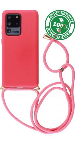 Coque Samsung Galaxy S20 Ultra - Bio Eco-Friendly Lacet rouge
