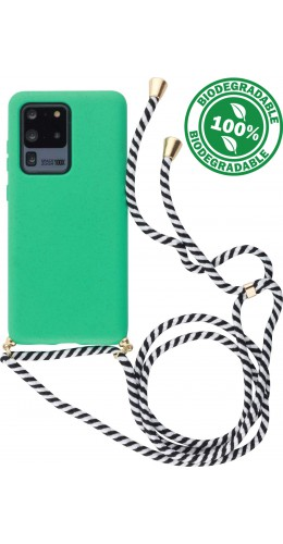 Coque Samsung Galaxy S20 Ultra - Bio Eco-Friendly Lacet turquoise