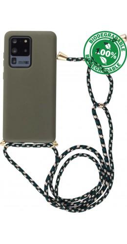 Coque Samsung Galaxy S20 Ultra - Bio Eco-Friendly Lacet vert foncé