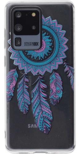 Coque Samsung Galaxy S20 Ultra - Gel Dreamcatcher plumes