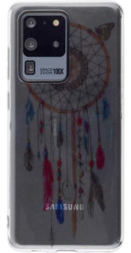 Coque Samsung Galaxy S20 Ultra - Gel Dreamcatcher rose bleu