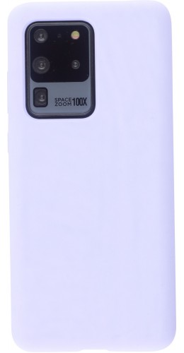 Coque Samsung Galaxy S20 Ultra - Soft Touch violet