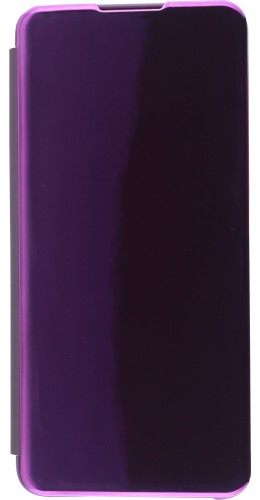 Coque Samsung Galaxy S21 Ultra 5G - Clear View Cover violet