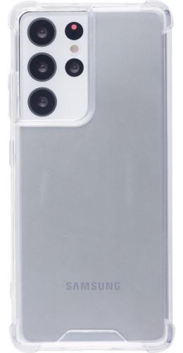 Coque Samsung Galaxy S21 Ultra 5G - Bumper Glass transparent
