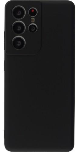 Coque Samsung Galaxy S21 Ultra 5G - Soft Touch noir