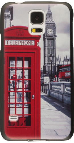 Coque Samsung Galaxy S5 - UK phone booth vintage