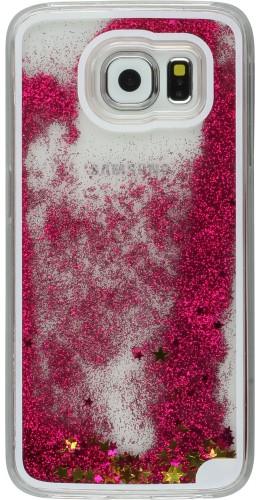 Coque Samsung Galaxy S7 edge - Water Stars rose foncé