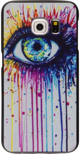Coque Samsung Galaxy S6 edge - Rainbow Eye