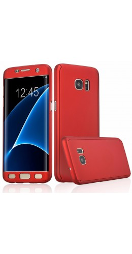 Coque Samsung Galaxy S7 edge - 360° Full Body rouge