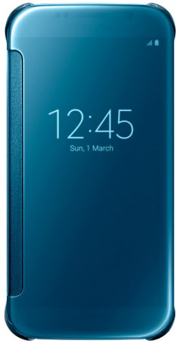 Coque Samsung Galaxy S5 - Clear View Cover bleu clair