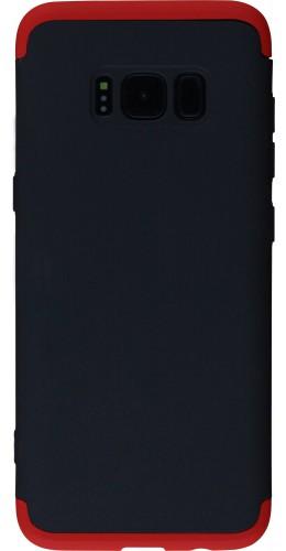 Coque Samsung Galaxy S8 - 360° Full Body noir rouge