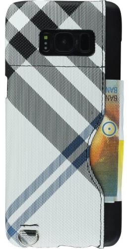 Coque Samsung Galaxy S8+ - Cards Lines blanc