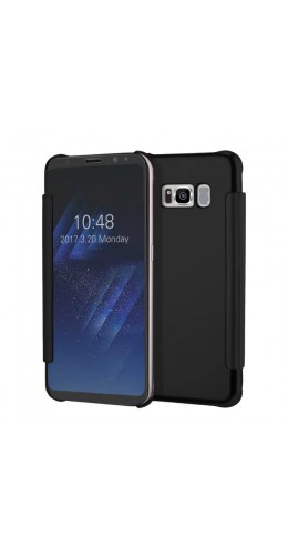 Coque Samsung Galaxy S8+ - Clear View noir