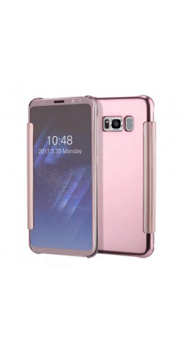 Coque Samsung Galaxy S8 - Clear View rose
