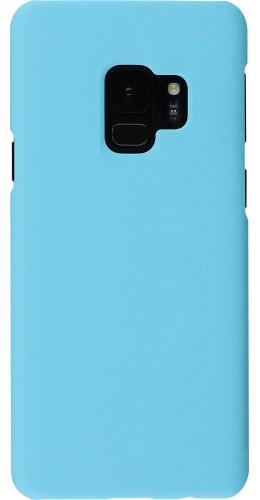 Coque Samsung Galaxy S9+ - Platsic Mat bleu clair