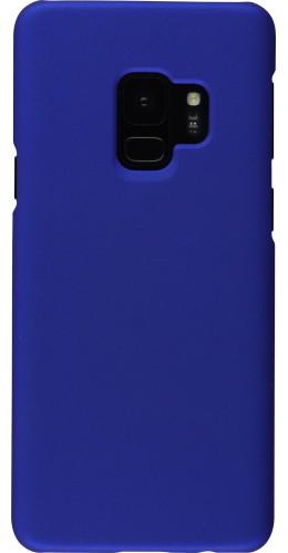 Coque Samsung Galaxy S9+ - Platsic Mat bleu foncé