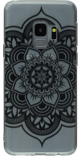 Coque Samsung Galaxy S9 - Clear Oriental Mandala