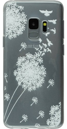 Coque Samsung iPhone 5c - Clear Pissenlit Birds