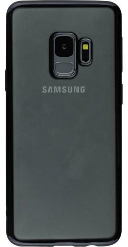 Coque Samsung Galaxy S9+ - Electroplate noir