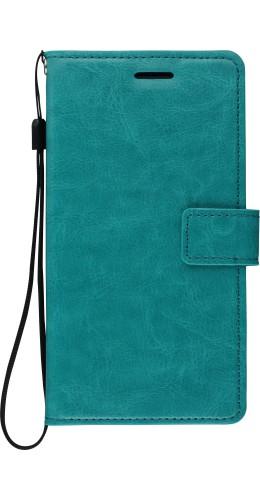 Fourre Samsung Galaxy S10 5G - Premium Flip turquoise