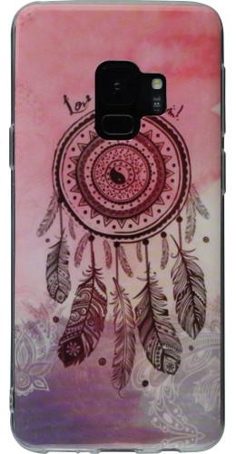 Coque Samsung Galaxy S9+ - TPU Dreamcatcher rose