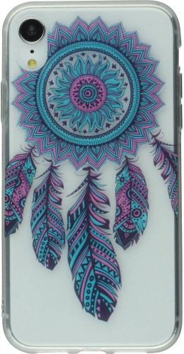 Coque Samsung iPhone XR - Gel Dreamcatcher plumes