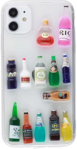 Coque iPhone 11 - 3D Bouteilles