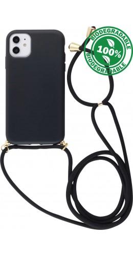 Coque iPhone 12 / 12 Pro - Bio Eco-Friendly Lacet noir