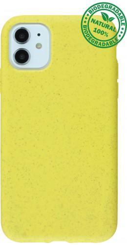 Coque iPhone 11 - Bio EcoFriendly jaune