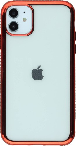 Coque iPhone 11 - Bumper Diamond rouge