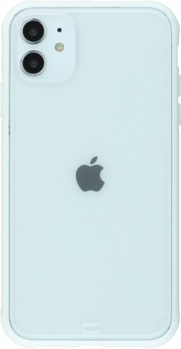 Coque iPhone 11 - Bumper Blur blanc