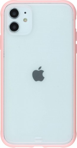 Coque iPhone 11 - Bumper Blur rose