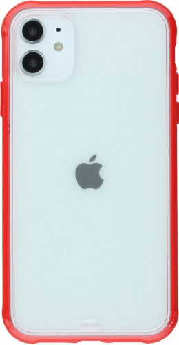 Coque iPhone 11 - Bumper Blur rouge