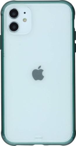 Coque iPhone 11 - Bumper Blur vert