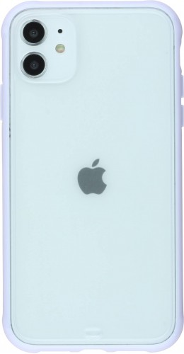 Coque iPhone 11 - Bumper Blur violet
