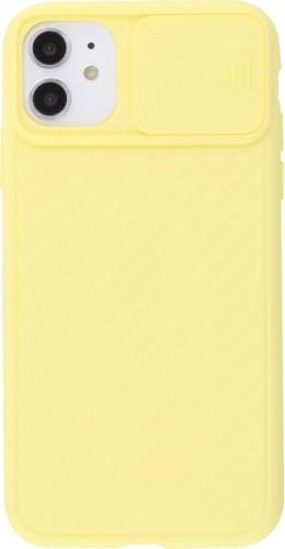 Coque iPhone 11 - Caméra Clapet jaune