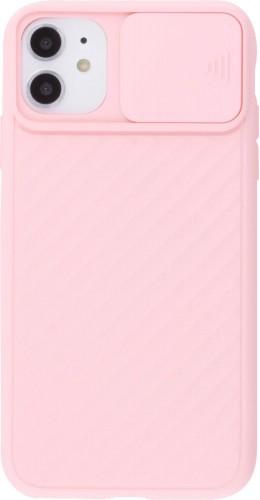Coque iPhone 11 - Caméra Clapet rose clair