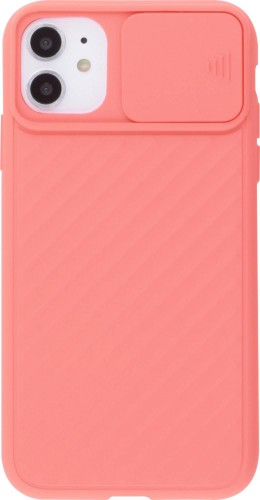 Coque iPhone 11 - Caméra Clapet saumon